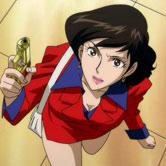 Fujiko Mine, chiamata anche Margot nelle varie serie, elemento di disturbo del trio, fà la gatta morta con Lupin, che puntualmente abbocca come un pesce, ... - lupin_fujiko052