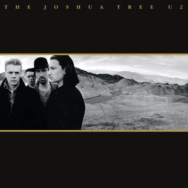 La copertina di The Joshua tree