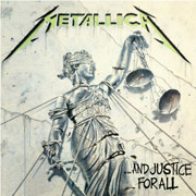 La copertina di Justice for all