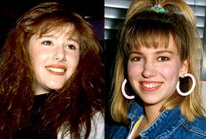 Tiffany e Debbie Gibson