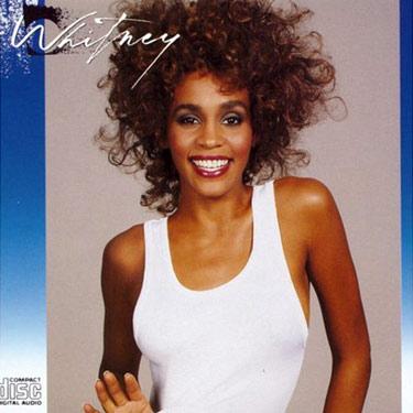 La copertina del secondo album di Whitney Houston
