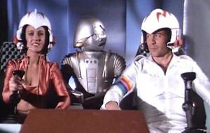 Buck Rogers e i suoi compagni di viaggio