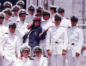 Federica Moro con i cadetti