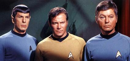 Kirk Spock e il dottore